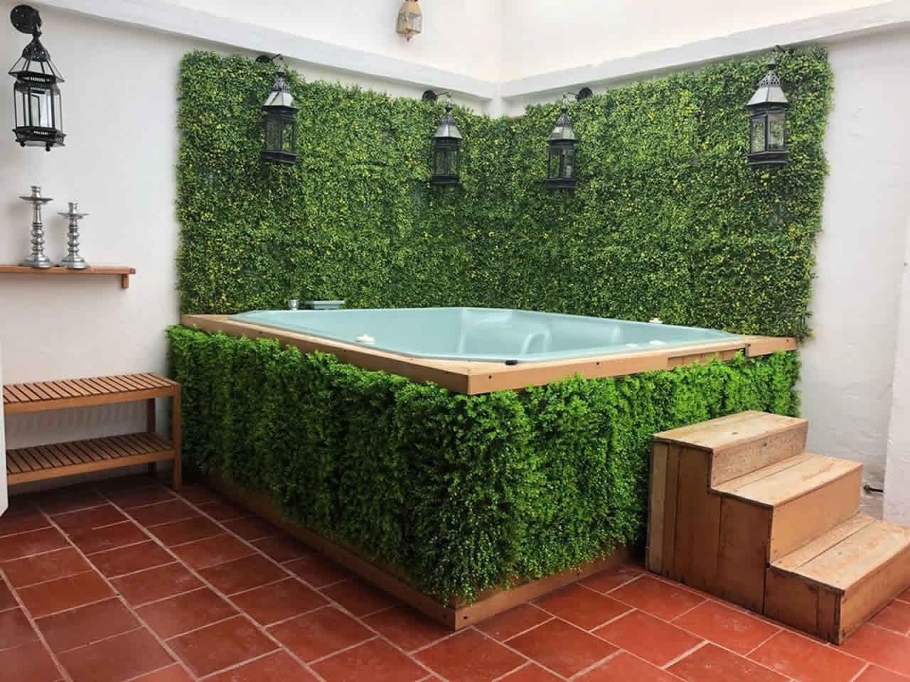 Jacuzzi casa valparaiso alquiler - villa de leyva