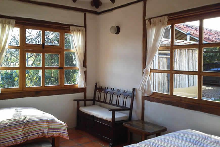 Habitacion 2 casa San Juan de Luz en Villa de Leyva