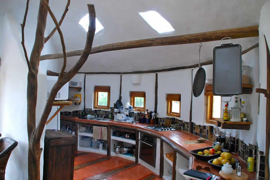 Cocina casa San Juan de Luz 1 en Villa de Leyva