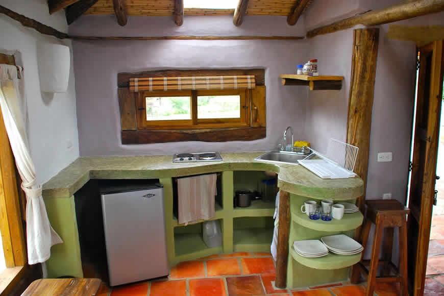 Cocineta casa San Juan de Luz 1 en Villa de Leyva