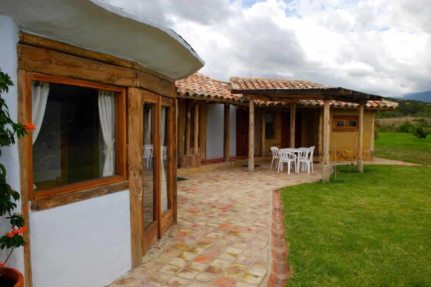 Exteriores casa San Juan de Luz 1 en Villa de Leyva