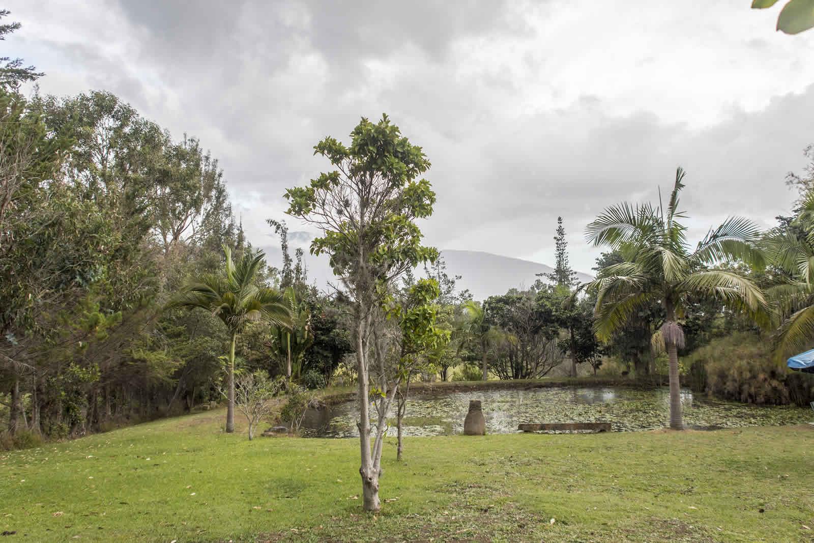 Lago casa El Pino en Villa de Leyva