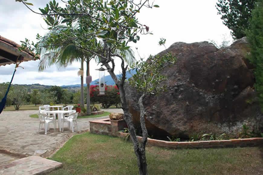 Exteriores casa loma de los vientos en Villa de Leyva