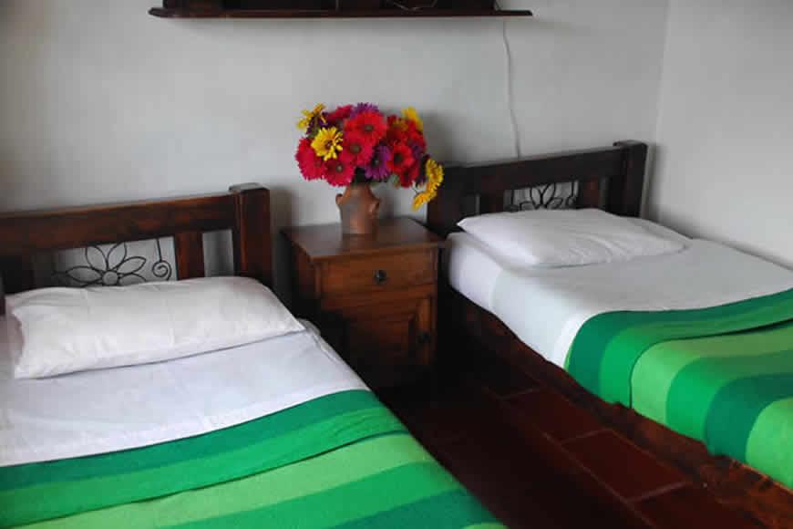 habitacion 2 casa loma de los vientos en Villa de Leyva