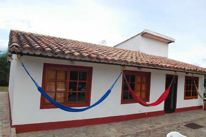 Hamacas casa loma de los vientos en Villa de Leyva