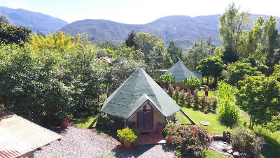 Suites Maloka agua en Villa de Leyva - Vista Aerea