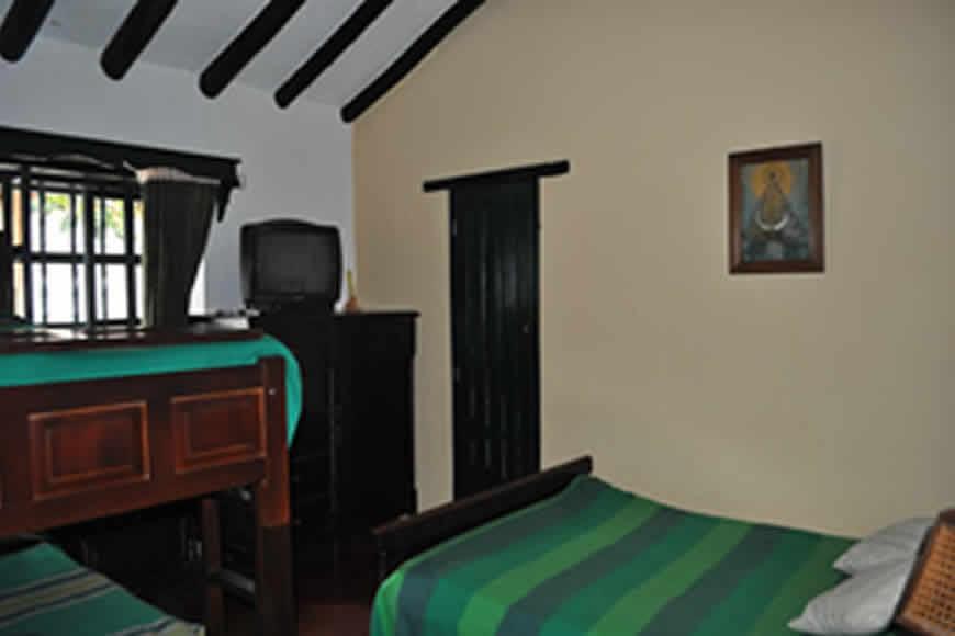 habitación 2 casa La María en Villa de Leyva