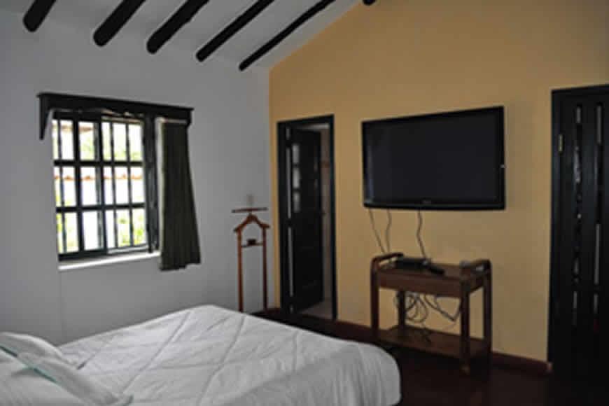 habitación principal casa La María en Villa de Leyva