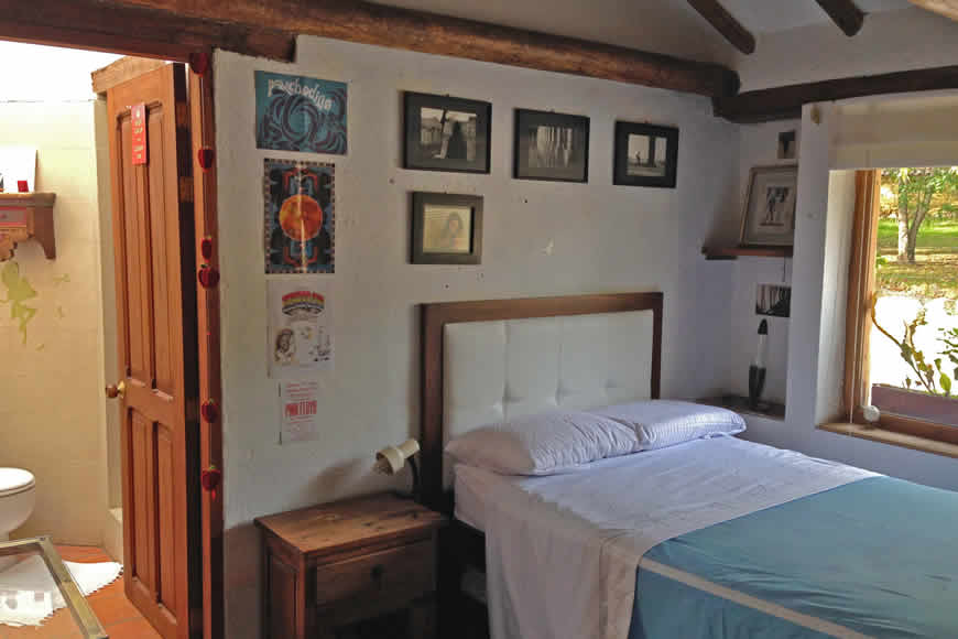 Finca montecatini villa de leyva habitación 1