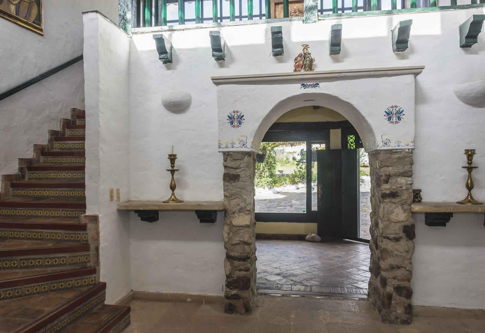 Pasillo casa tamoe villa de leyva