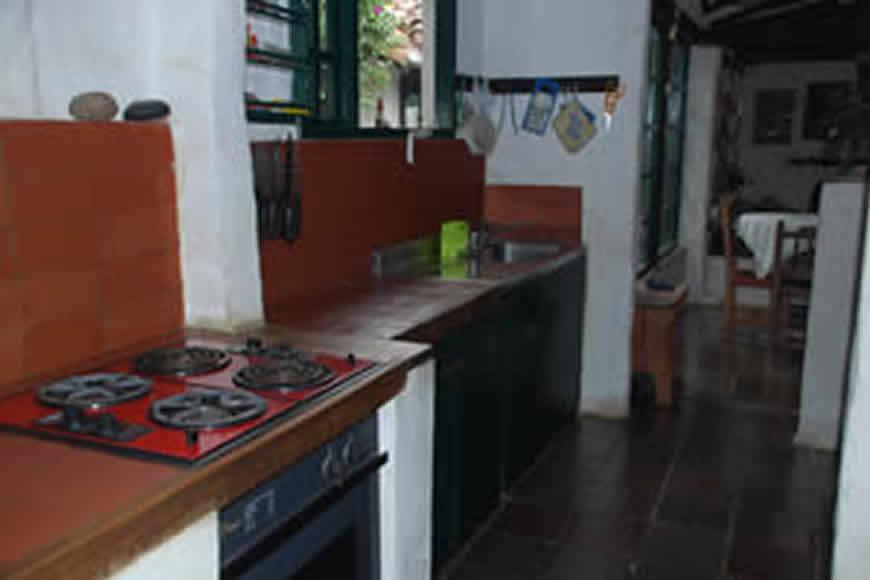 Cocina cabaña la rupa en Villa de Leyva