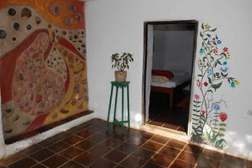 Hall cabaña la rupa en Villa de Leyva
