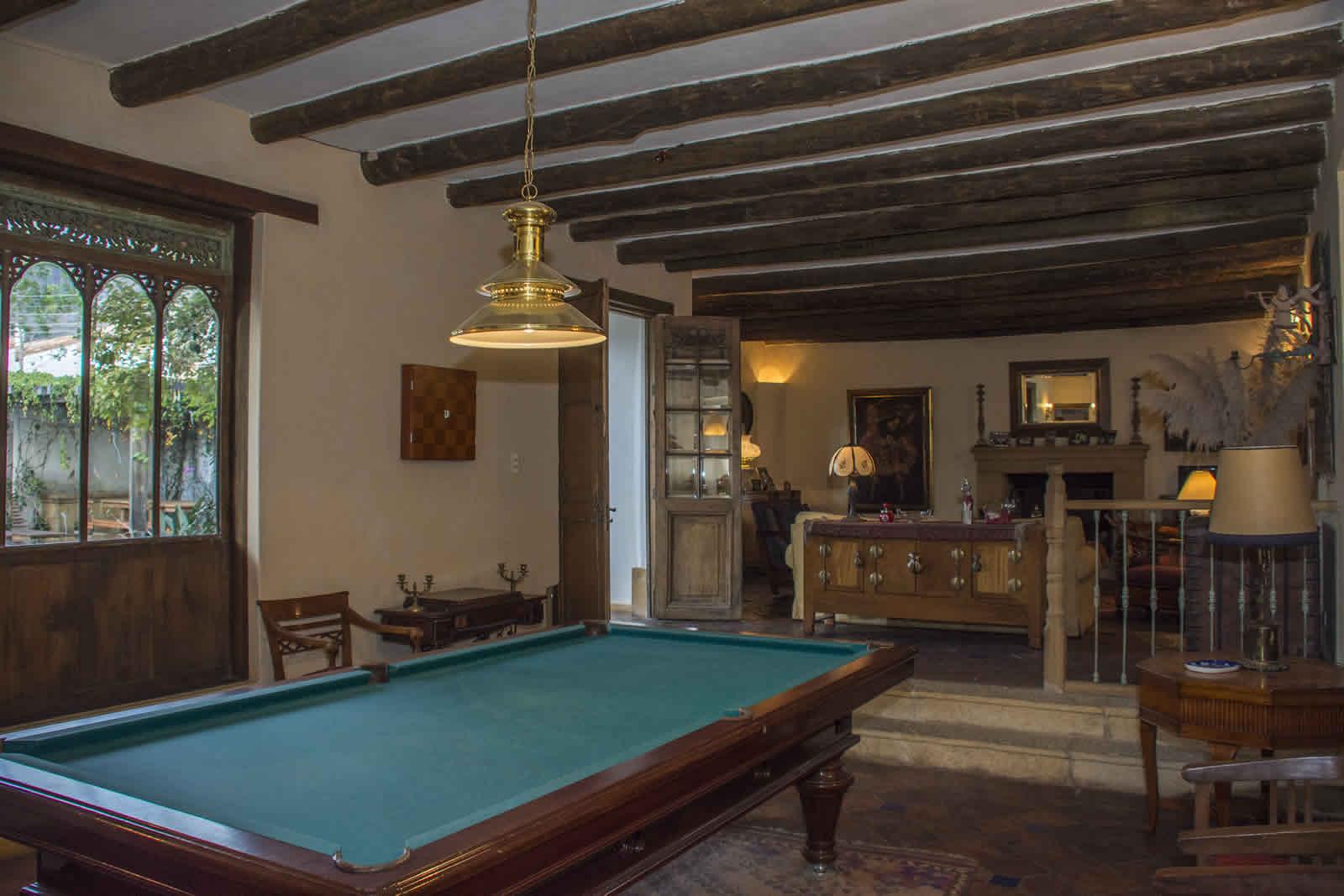 Salón de Juegos casa oasis alquiler villa de leyva