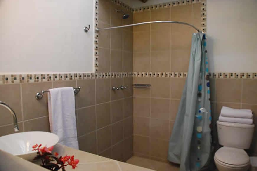 Baño casa shonsua en Villa de Leyva