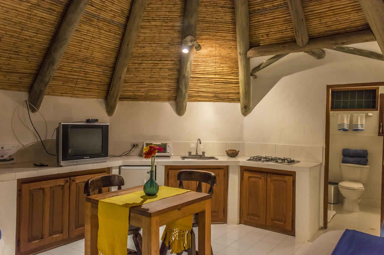 Suites Maloka agua en Villa de Leyva - Cocineta