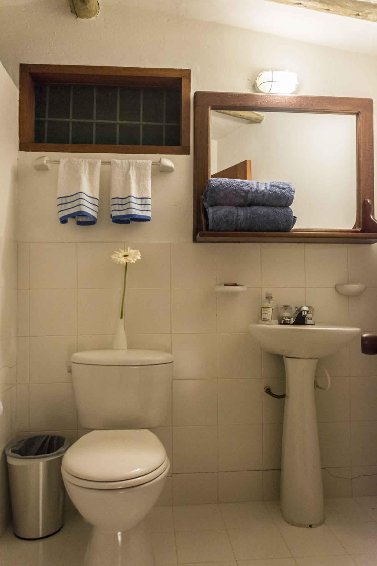 Suites Maloka agua en Villa de Leyva - Baño