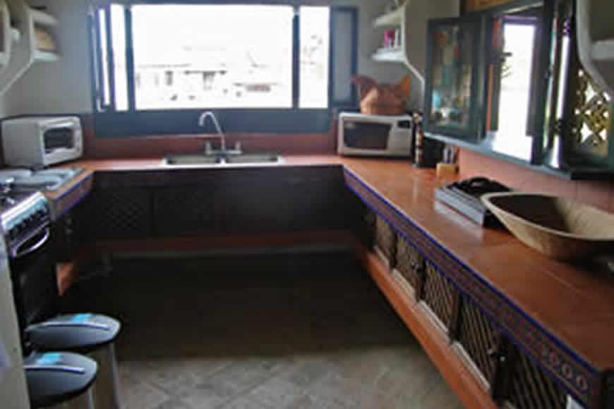 Cocina casa Tamoe en Villa de Leyva