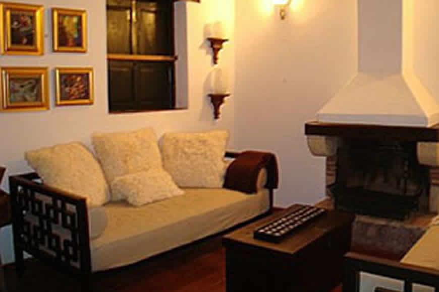 Sala 2 casa valparaiso en Villa de Leyva