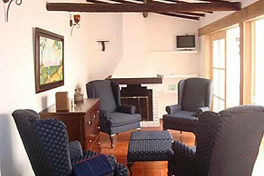 Sala casa valparaiso en Villa de Leyva
