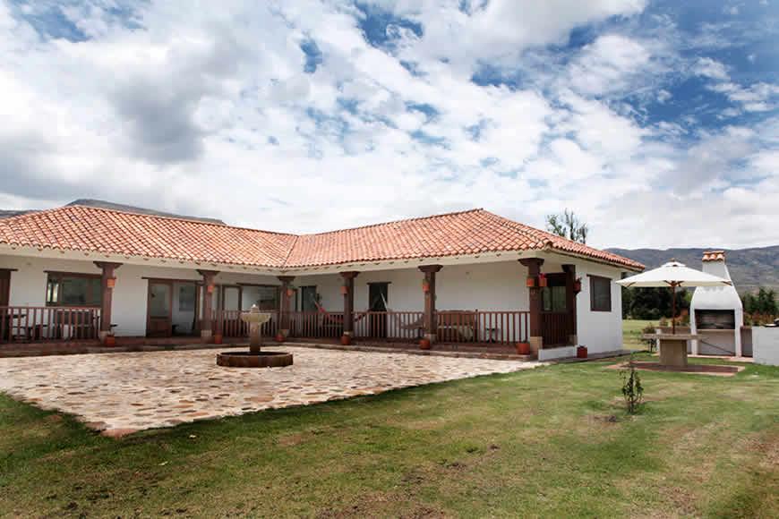 casa San Agustín en Villa de Leyva