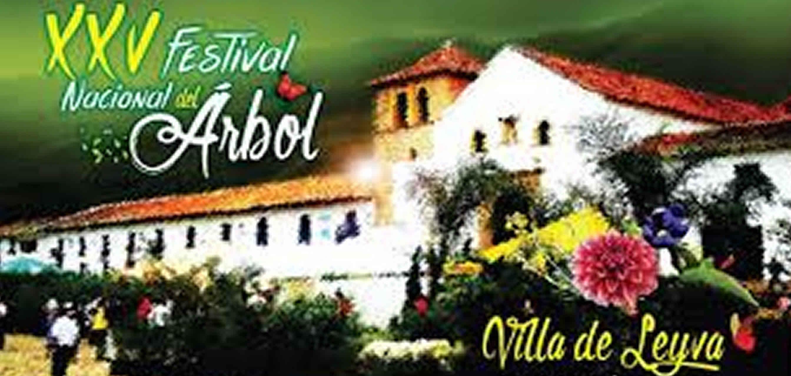 Festival del árbol de Villa de Leyva 2015