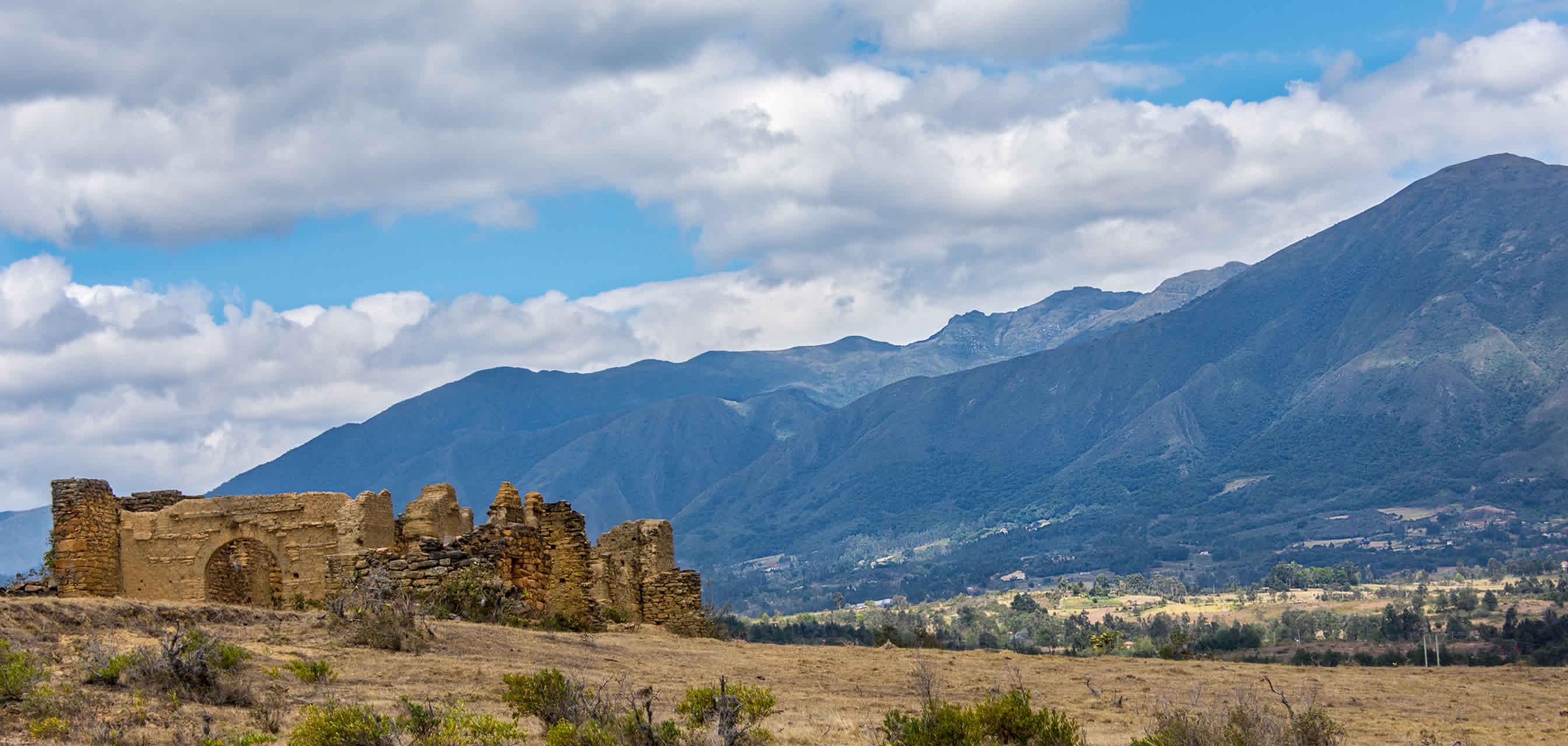 Ruinas de Gachantivá en Villa de Leyva