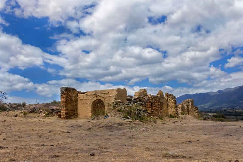 Ruinas de Gachantivá viejo en cercanías a Villa de Leyva