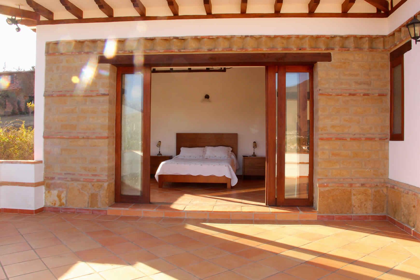 Alquiler casa Ecatepec en Villa de Leyva - Comedor