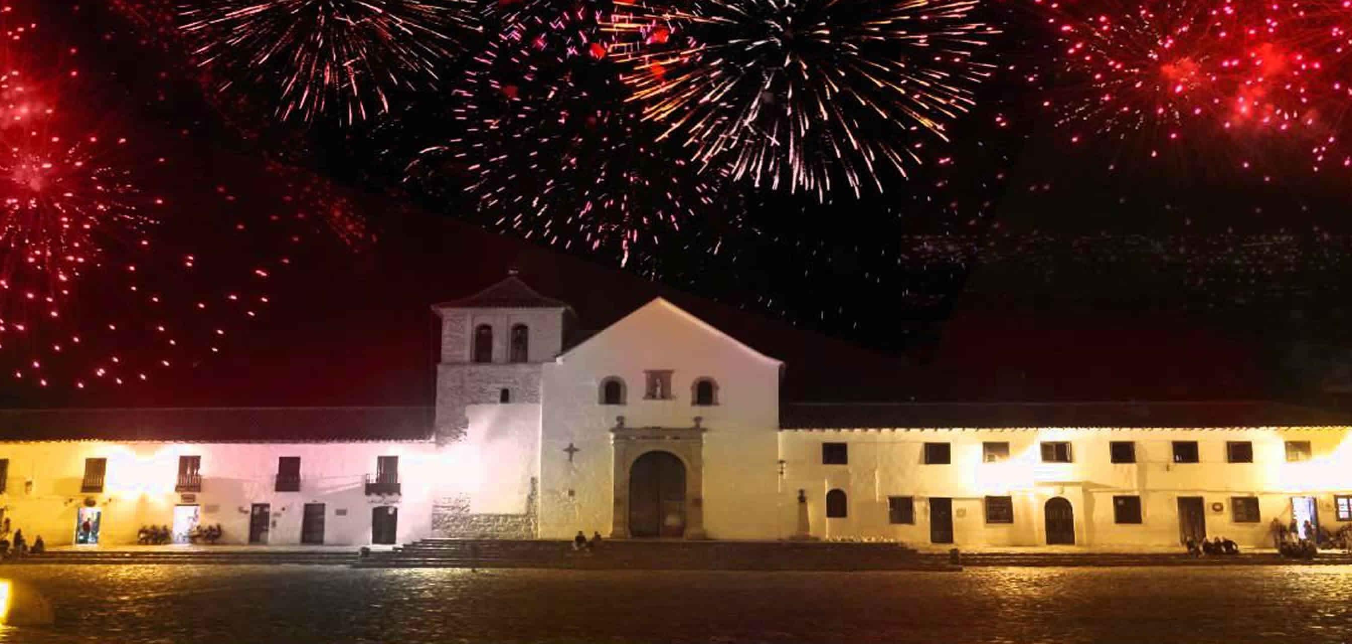 Festival de luces de Villa de Leyva 2015