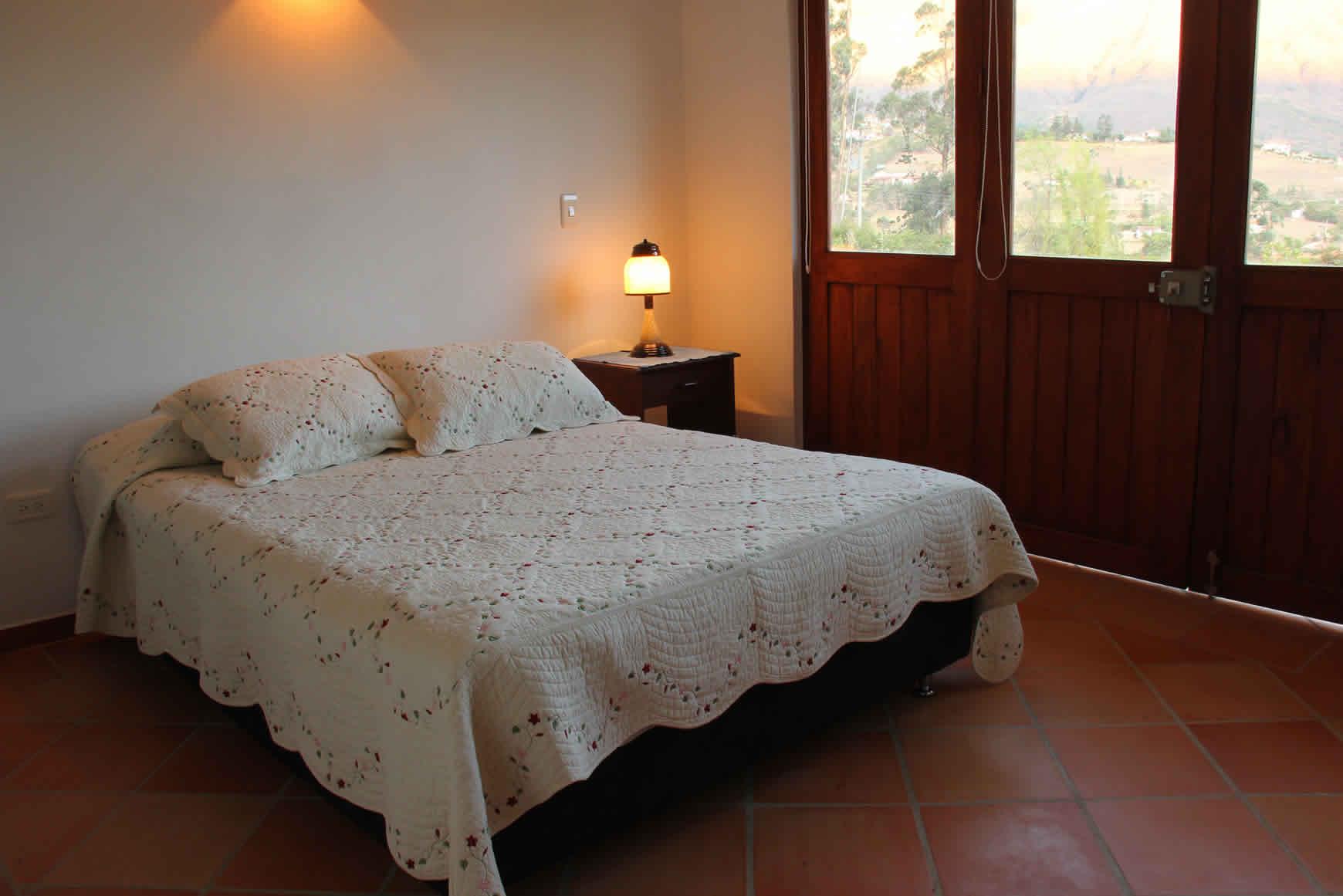 Habitacion 2 casa ecatepec en Villa de Leyva