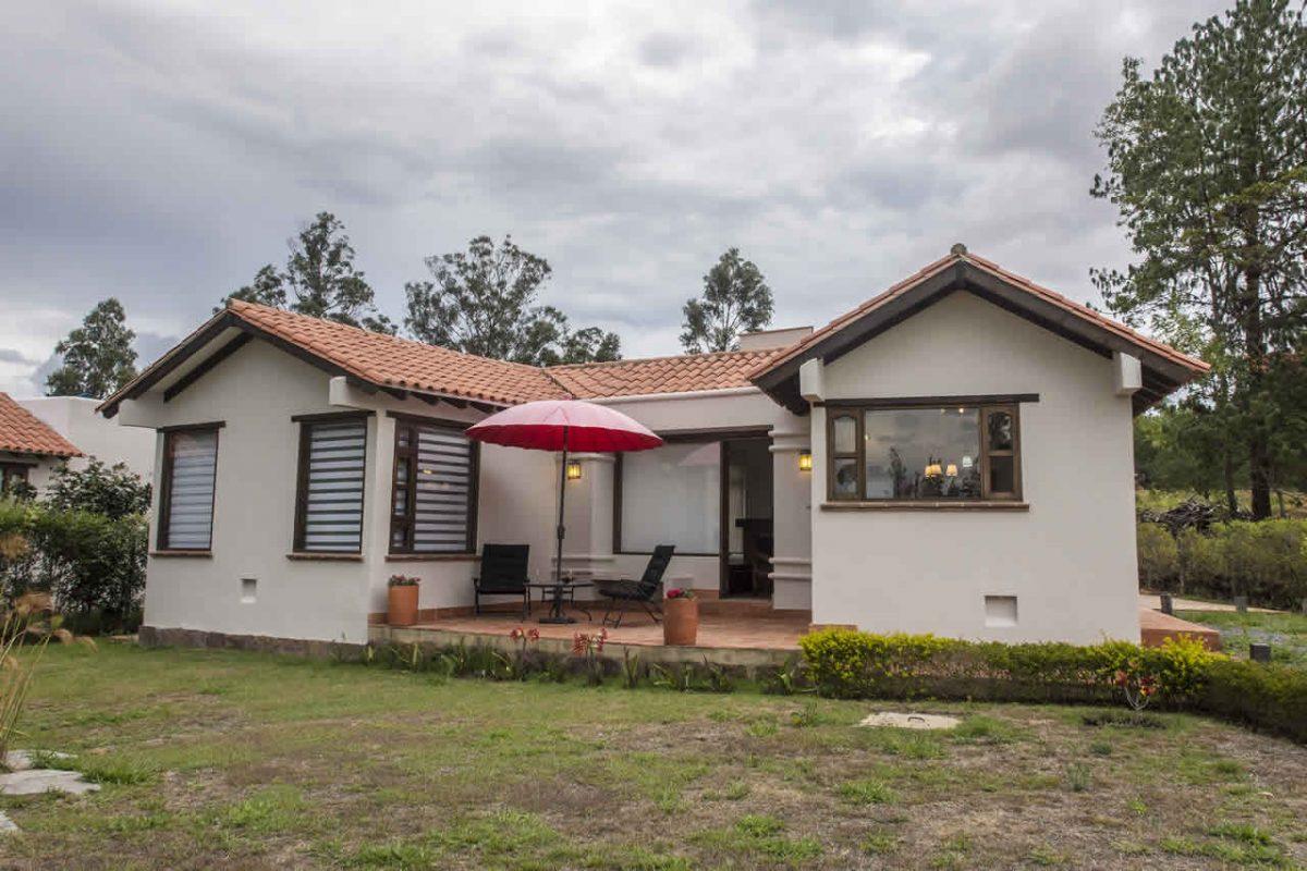 Fachada - Alquiler cabaña La Petite Maison en Villa de Leyva