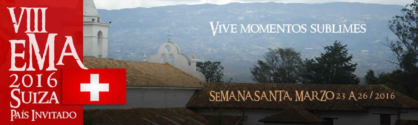 Afiche VIII Encuentro de Música Antigua de Villa de Leyva 2016