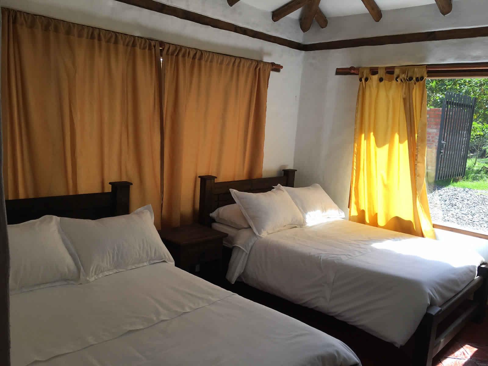 Alquiler cabaña El Paraíso en Villa de Leyva - habitación 3