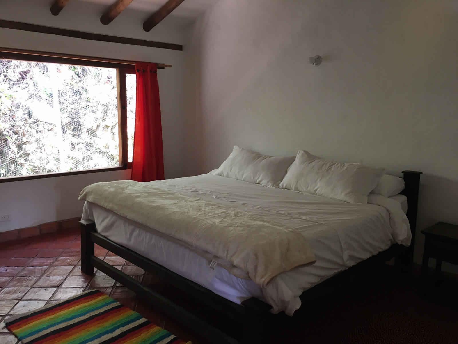 Alquiler cabaña El Paraíso en Villa de Leyva - habitación principal