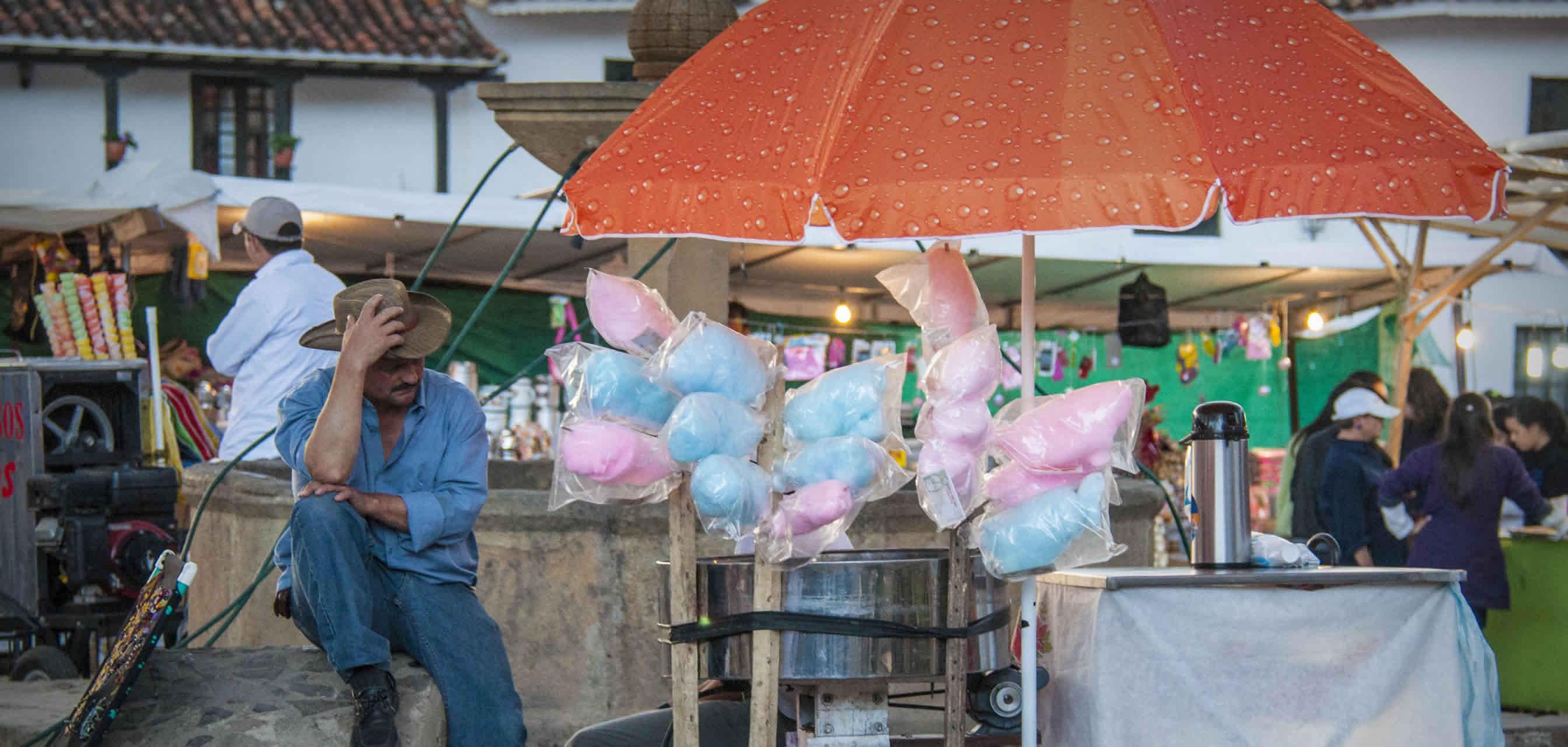 Ferias y fiestas de la virgen del carmen en Villa de Leyva 2016