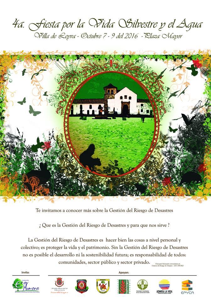 Afiche IV Fiesta por la Vida Silvestre y el Agua
