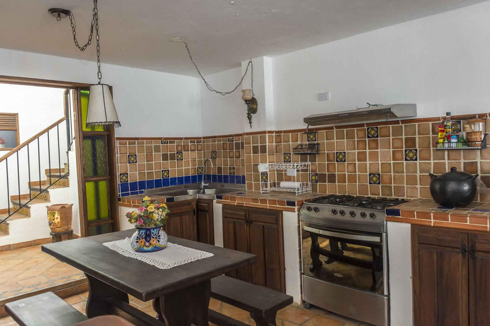 Alquiler Casa Azul en Villa de Leyva Cocina