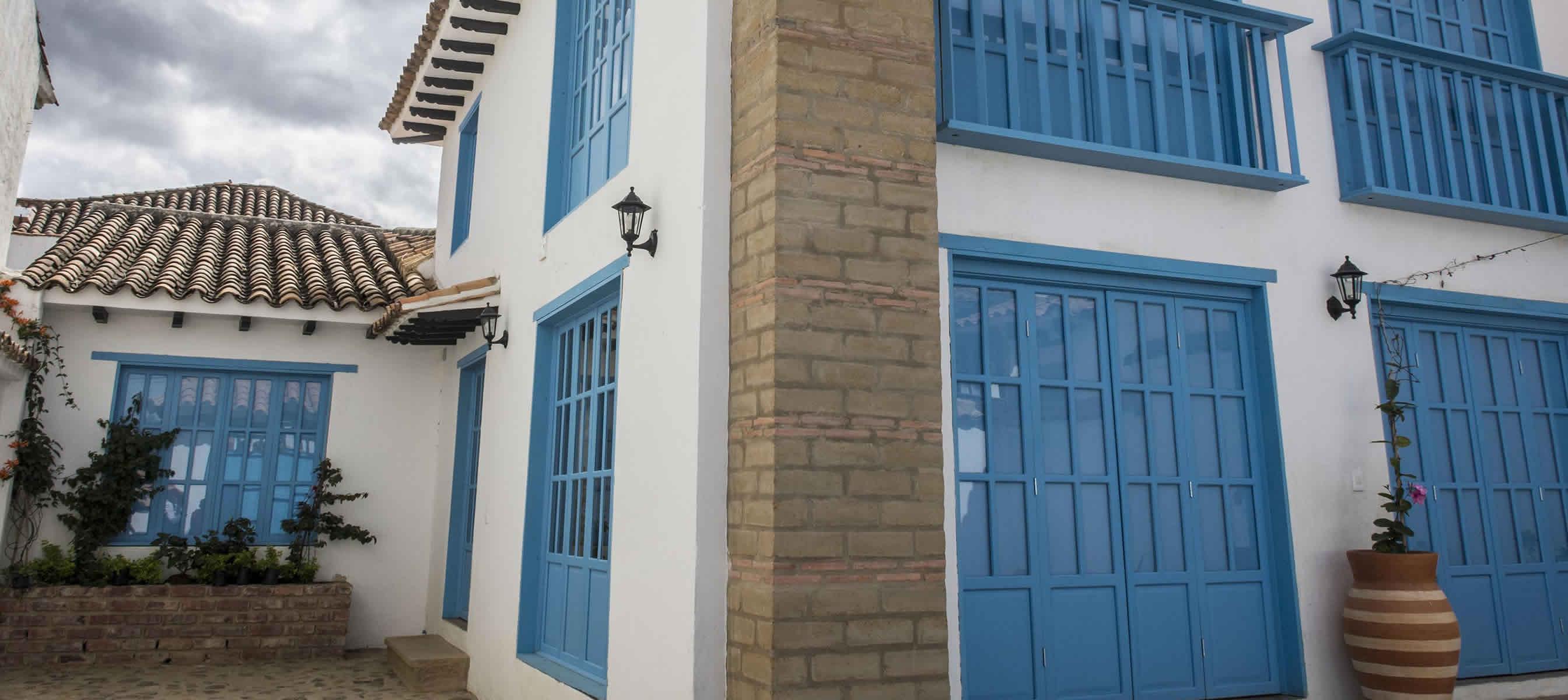 Casa Azul casa para para alquiler en Villa de Leyva