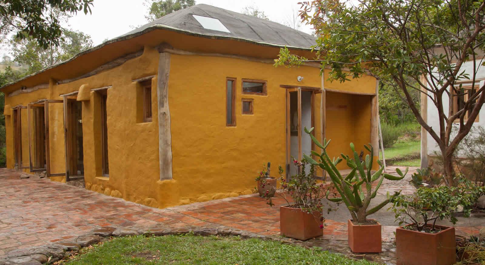 Alquiler cabaña La Colorada 2 en Villa de Leyva - Fachada