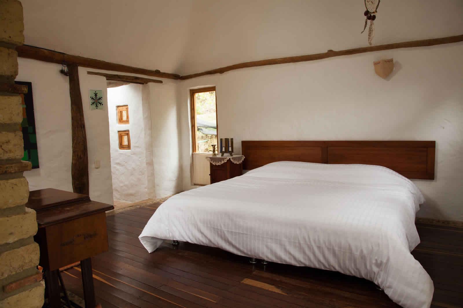 Alquiler cabaña La Colorada 2 en Villa de Leyva - Habitación principal