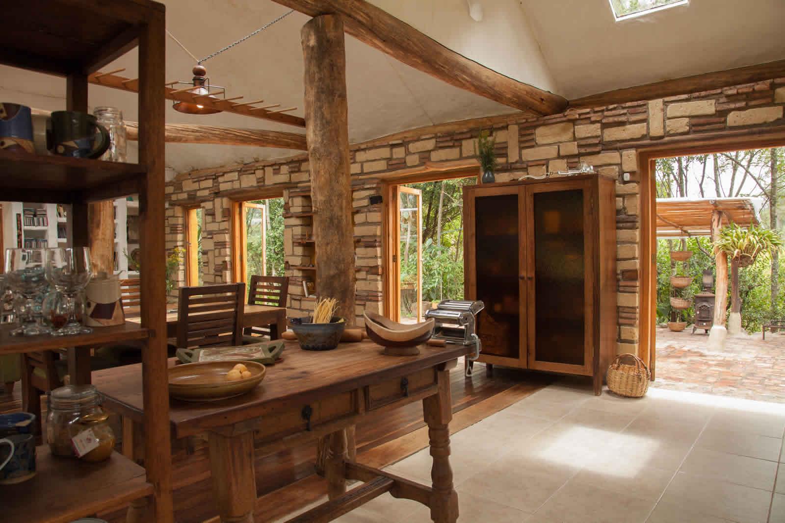 Alquiler cabaña La Colorada 2 en Villa de Leyva - Entrada