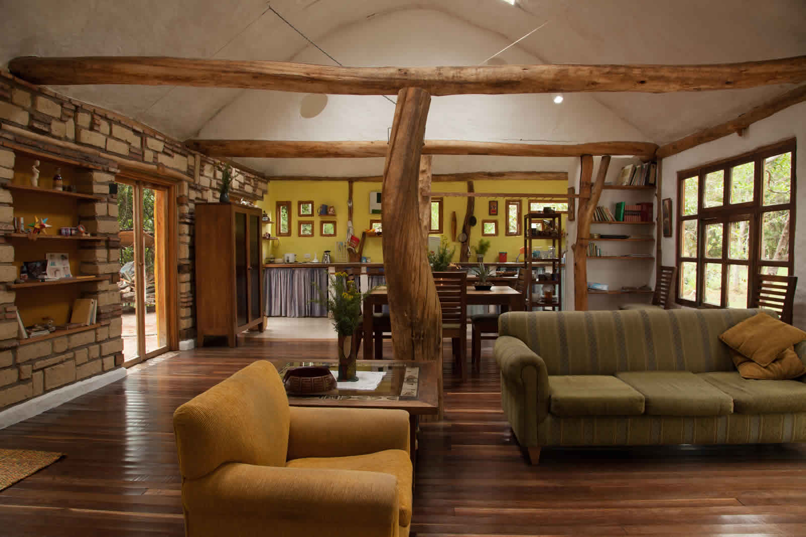 Alquiler cabaña La Colorada 2 en Villa de Leyva - Sala