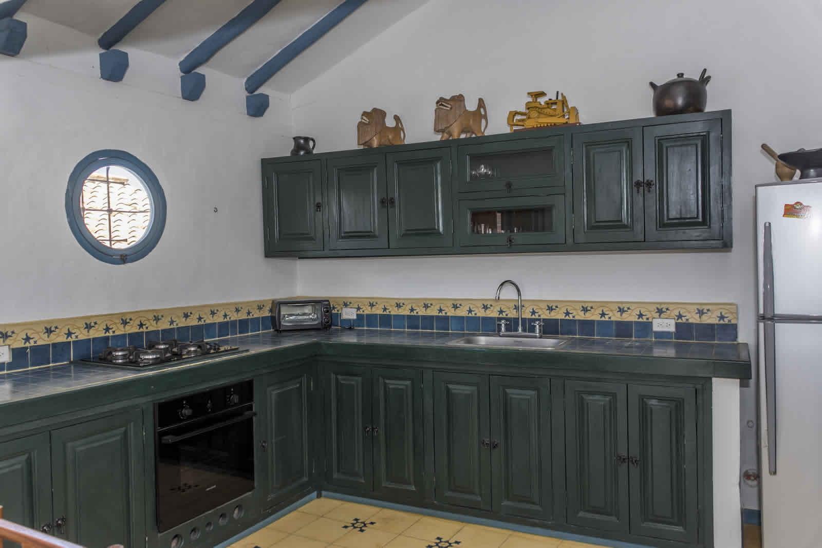 Alquiler casa Tulato Villa de Leyva cocina