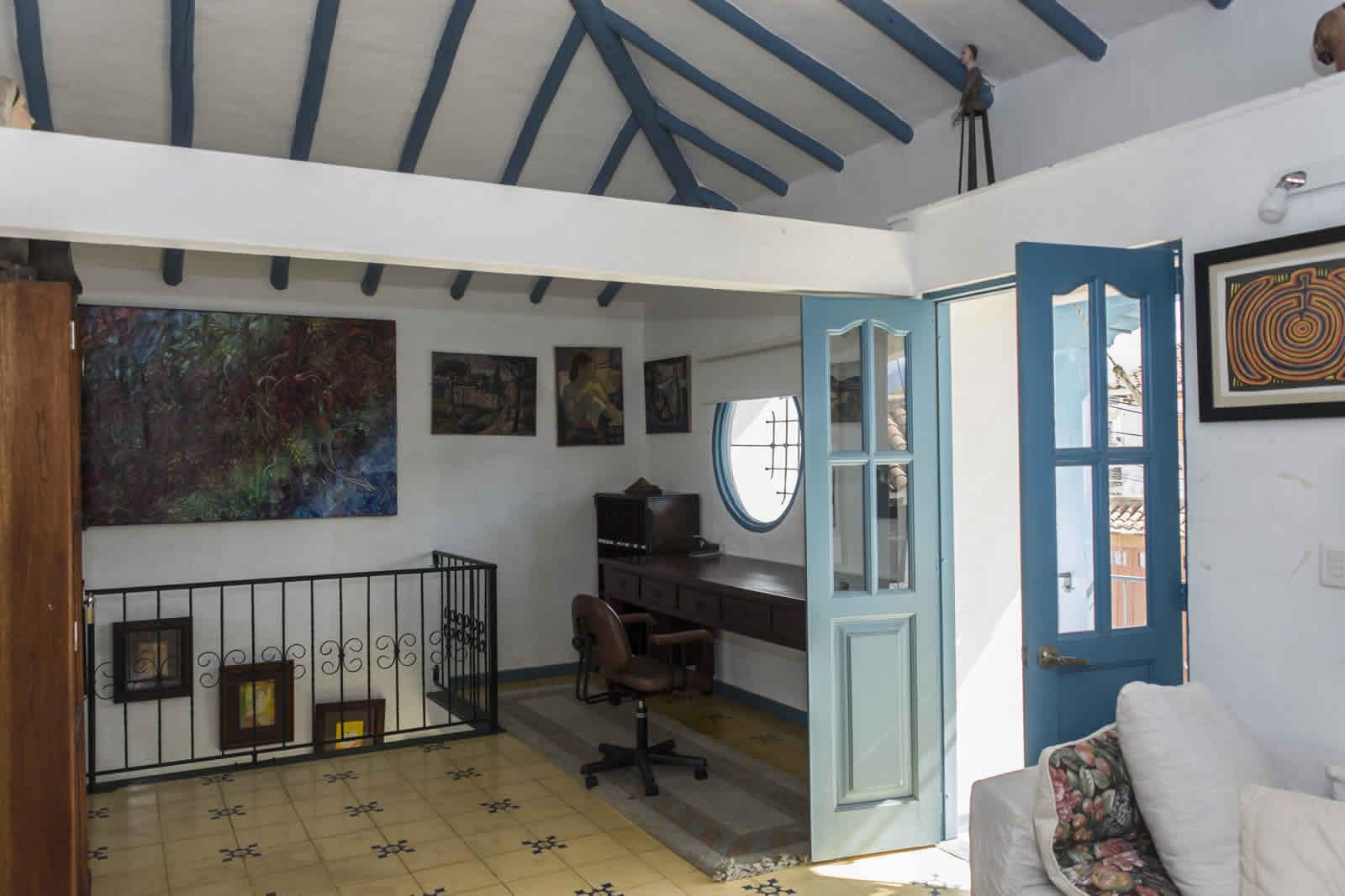 Alquiler casa Tulato Villa de Leyva estudio