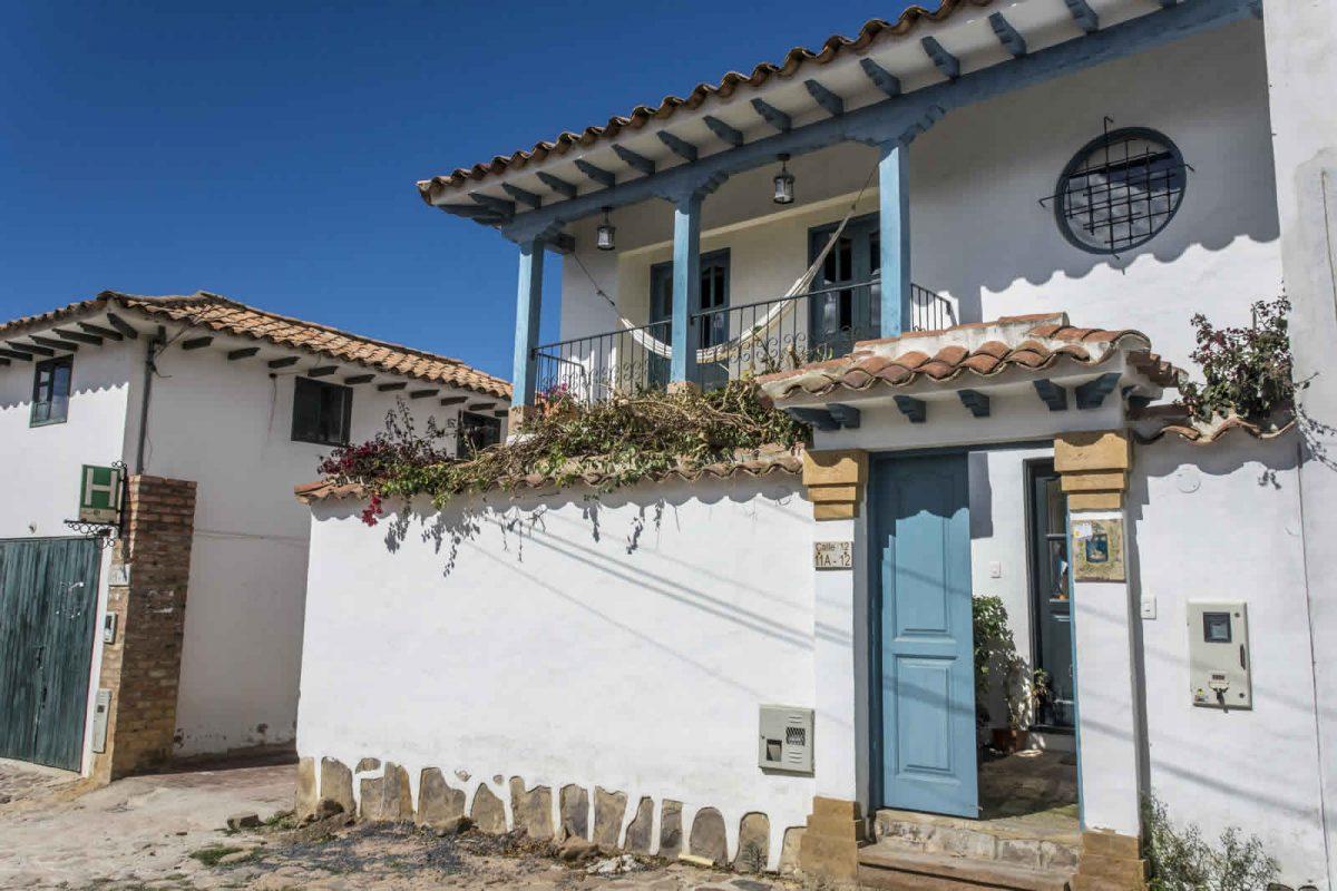 Alquiler casa Tulato Villa de Leyva fachada