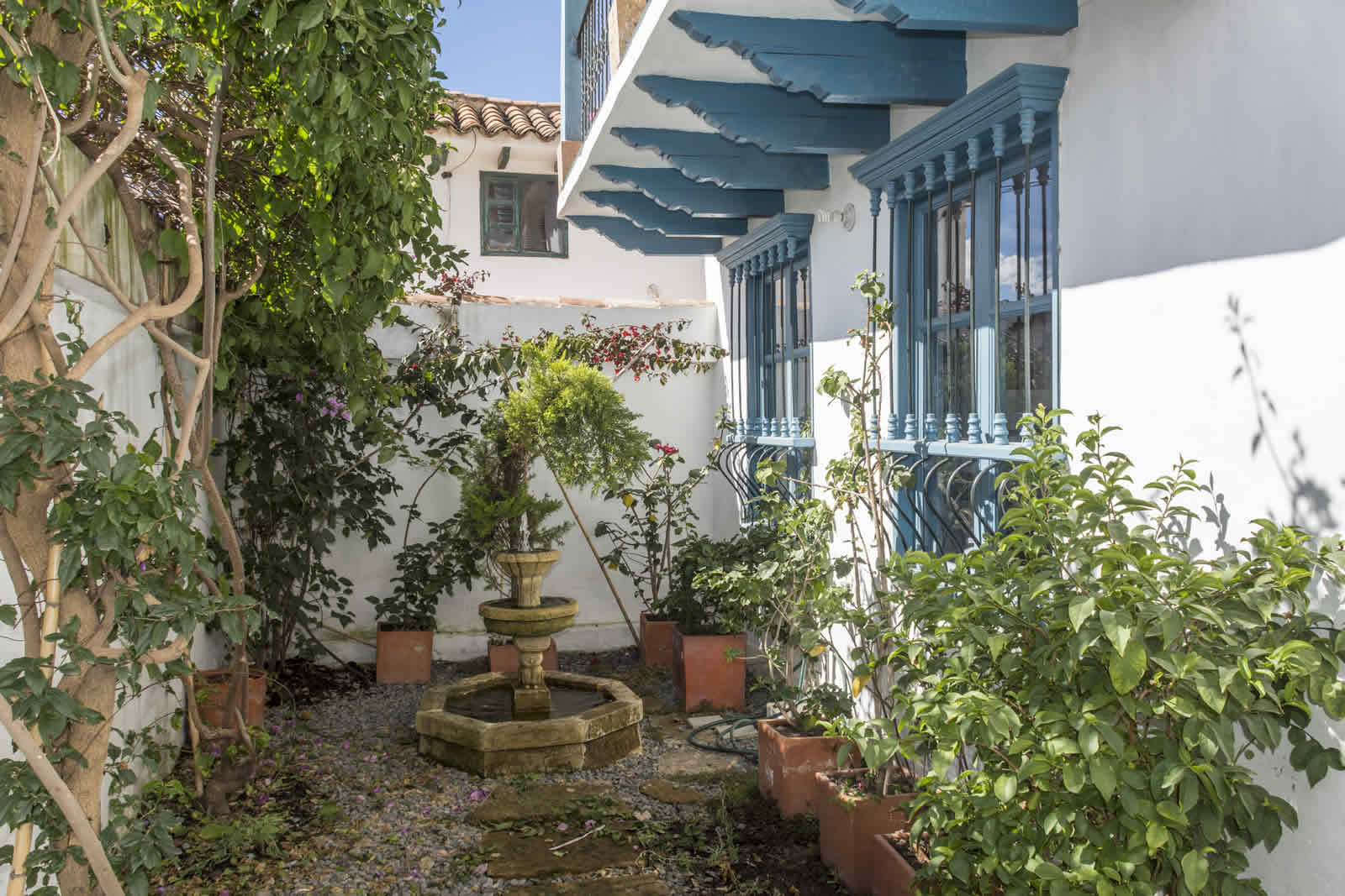 Alquiler casa Tulato Villa de Leyva fuente