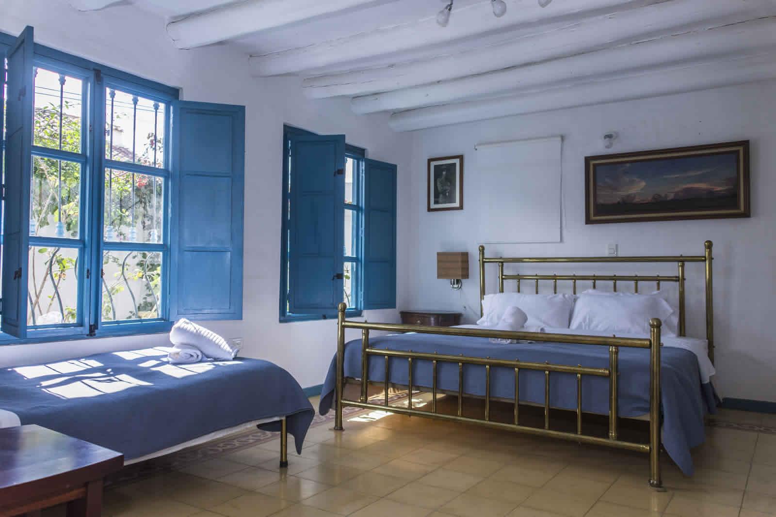 Alquiler casa Tulato Villa de Leyva habitación 2