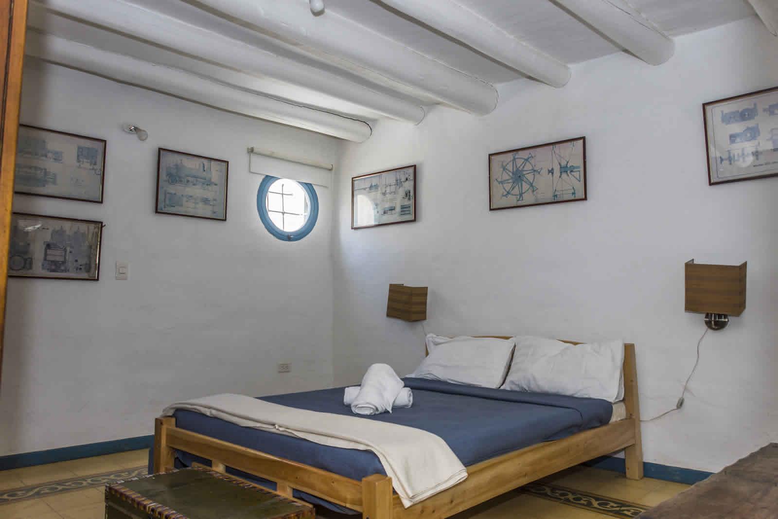 Alquiler casa Tulato Villa de Leyva habitación principal