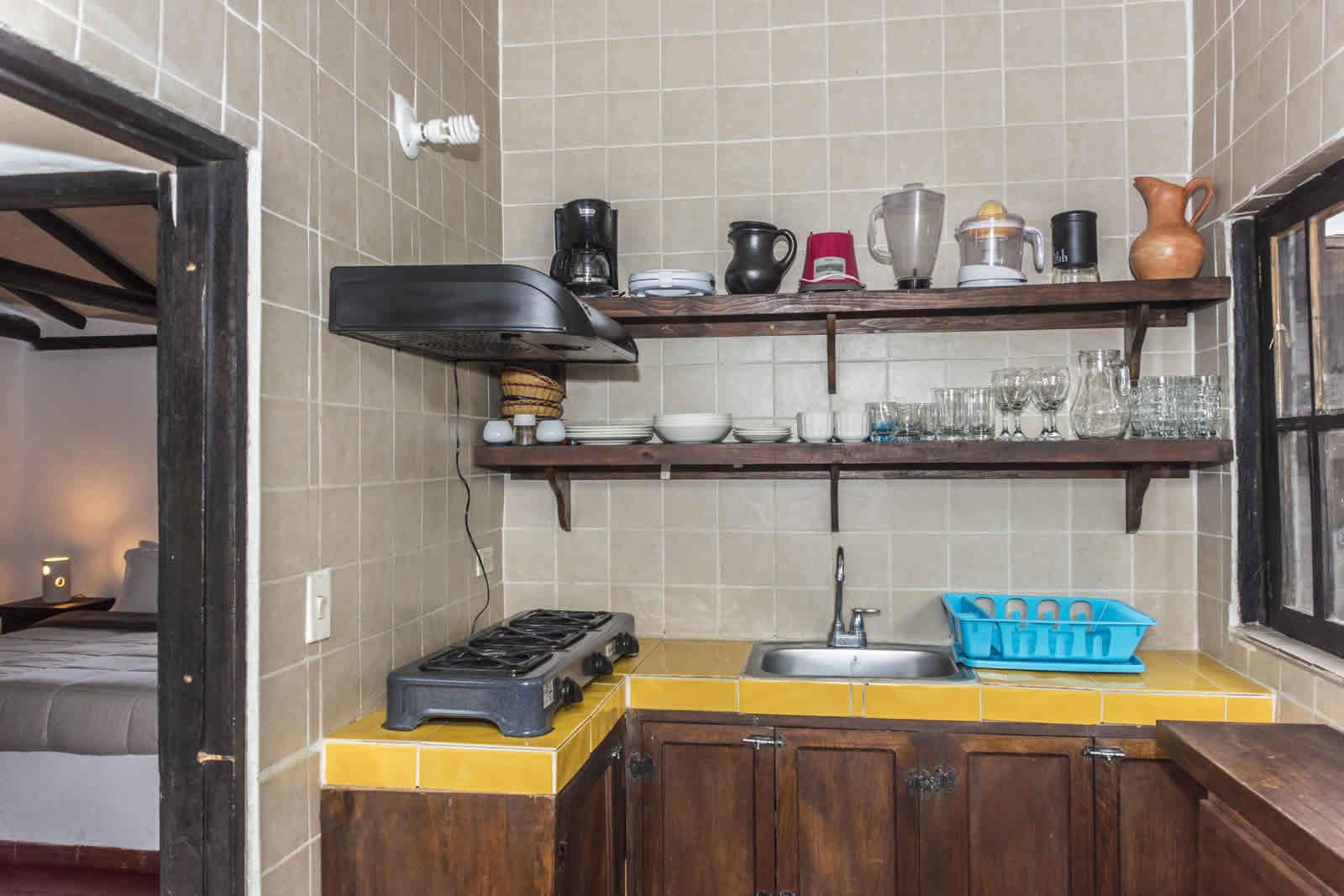 Alquiler casa de verano Villa de Leyva cocina