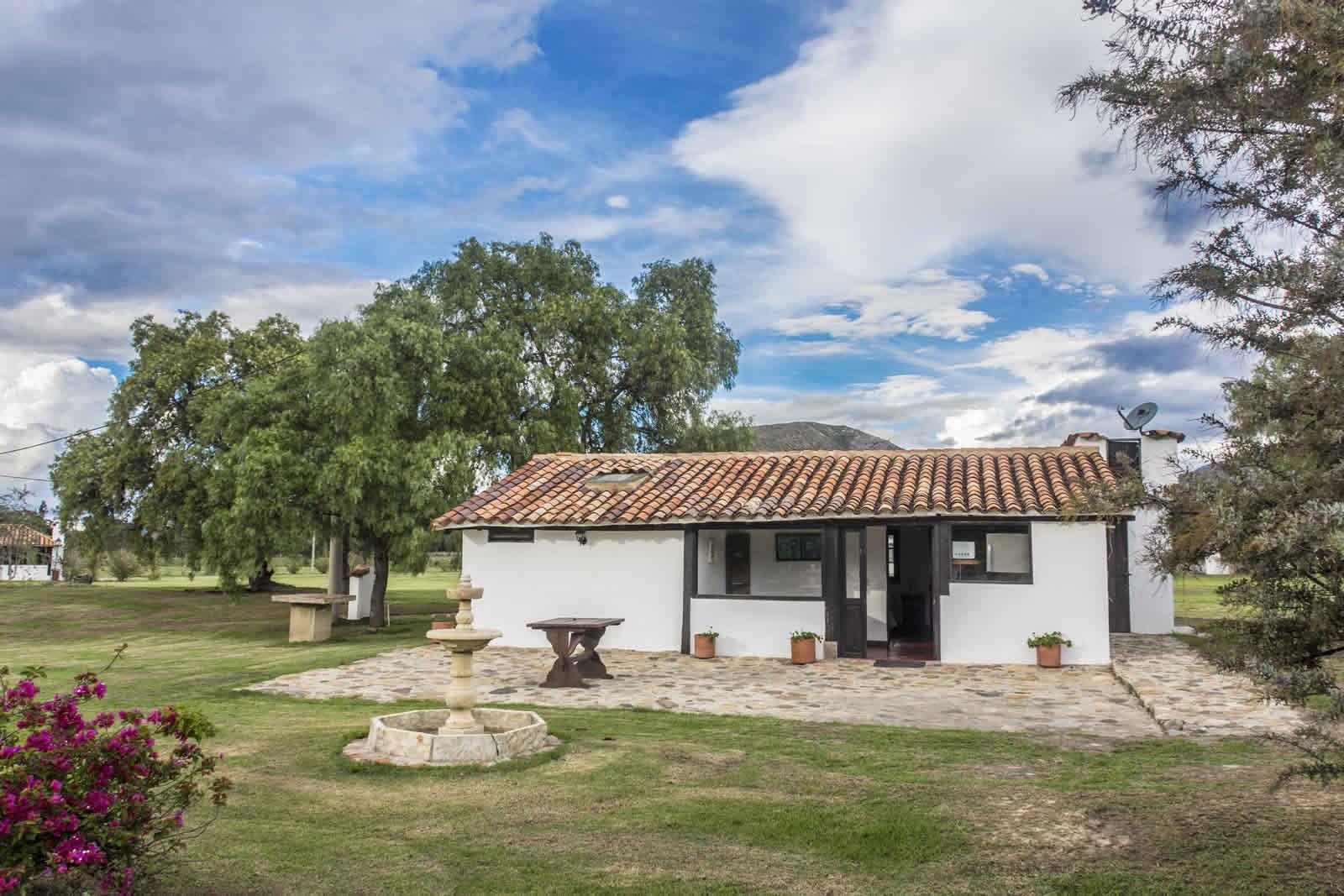Alquiler casa de verano Villa de Leyva Fachada